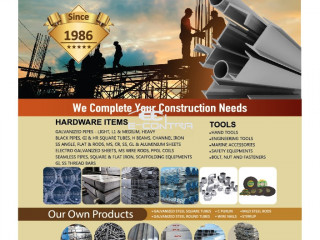 We Complete your construction needs